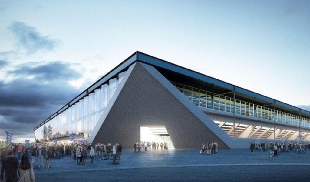 Hochparterre presseschau das neue fussballstadion in for Lausanner fussballstadion
