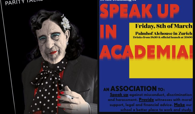 Parity Talks IV und Speak Up in Academia