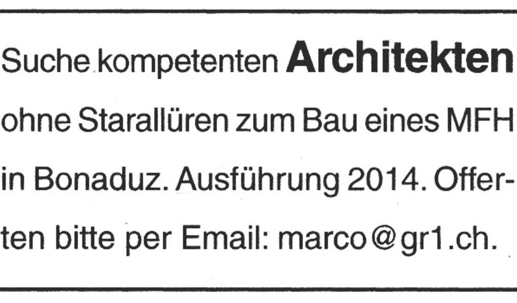 hochparterre architektur gesucht architekt