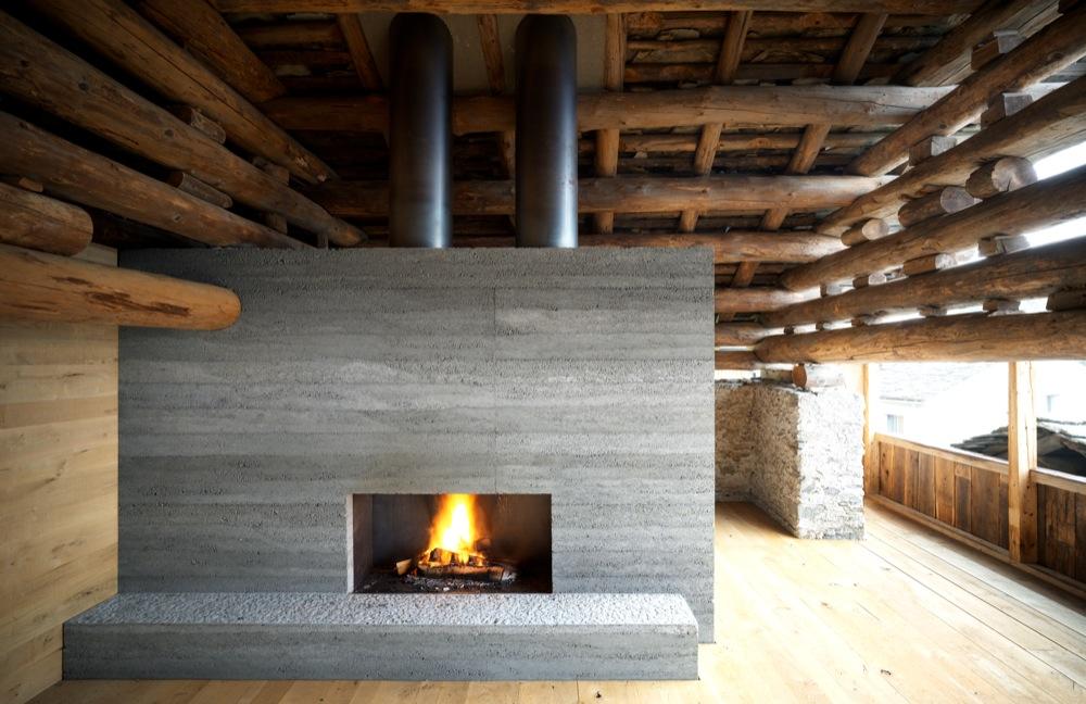 Hochparterre bildergalerien bauen im bergell for Design hotel franken