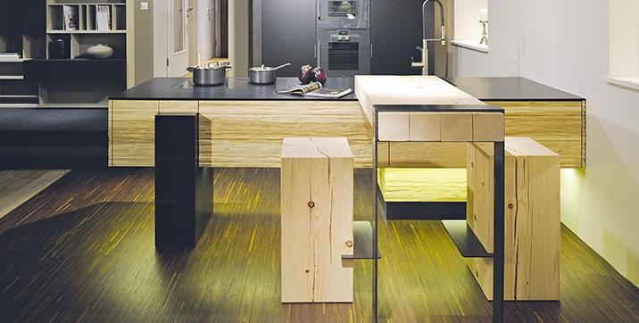 hochparterre design die sch nste schweizer k che. Black Bedroom Furniture Sets. Home Design Ideas