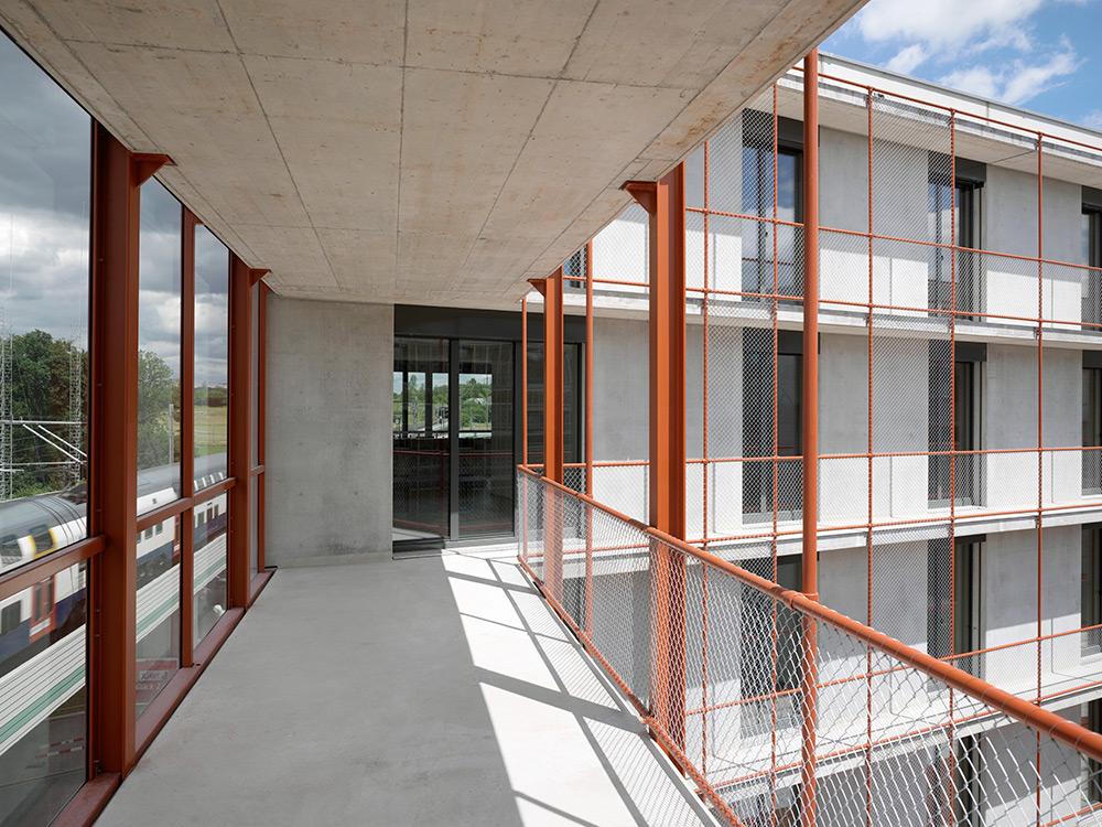 Laubengang Architektur | Hochparterre Architektur Tiefer Tiefer