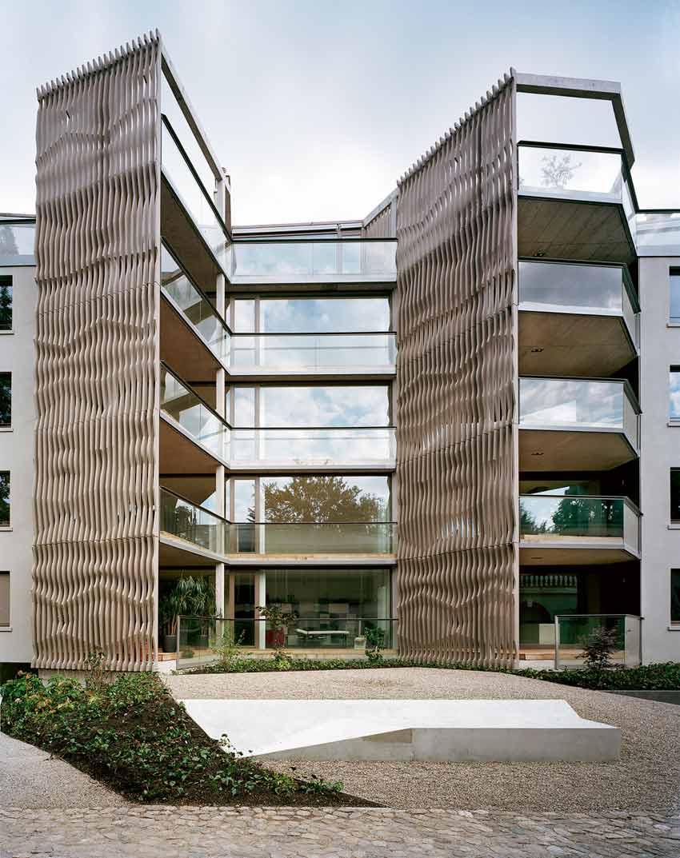 Hochparterre architektur die besten h user for Architektur basel