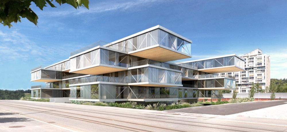 Hochparterre presseschau geiler stoff for Moderne architektur