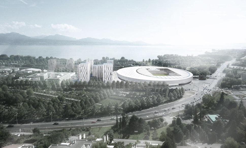 Hochparterre presseschau gmp baut das stade de lausanne - Architekten stade ...