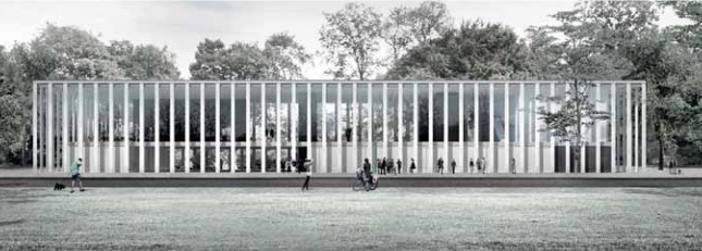 Schweizer bauen Besucherzentrum des Reichstags