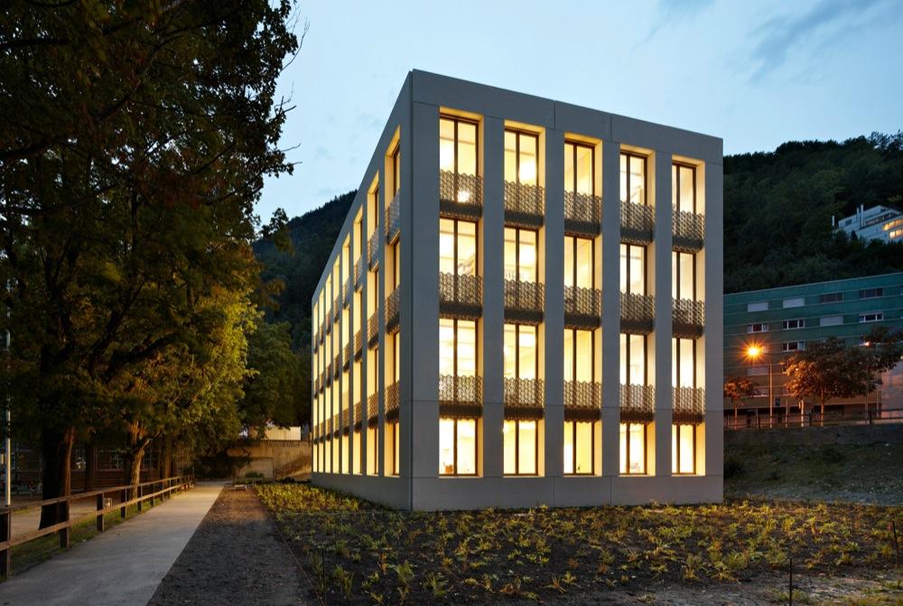 hochparterre architektur alte schule neu interpretiert